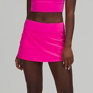 🔥 NWT Lululemon Pace Rival Skirt - Sonic Pink 6